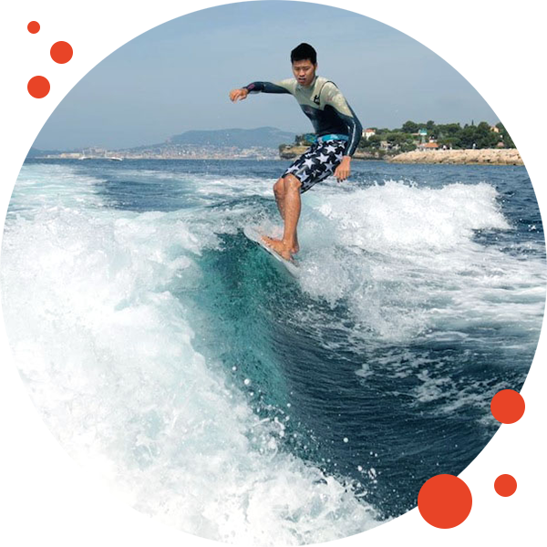 Wakesurf - Newgliss Center 83 - Location Jet Ski